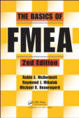 cover of The Basics of FMEA, 2nd Edition