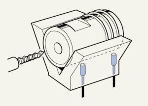 Example of a proximity sensor