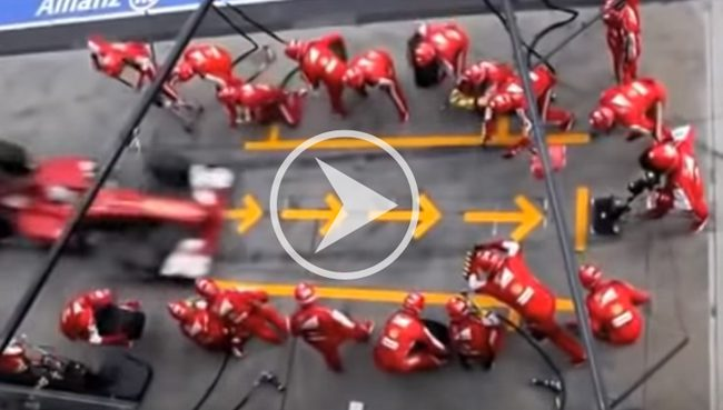 Pitstop video shows the value set-up reduction could bring to your manufacturing operation.