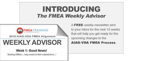 Learn about changes to FMEAs in the automotive sector based on the draft 2018 AIAG FMEA Manual.