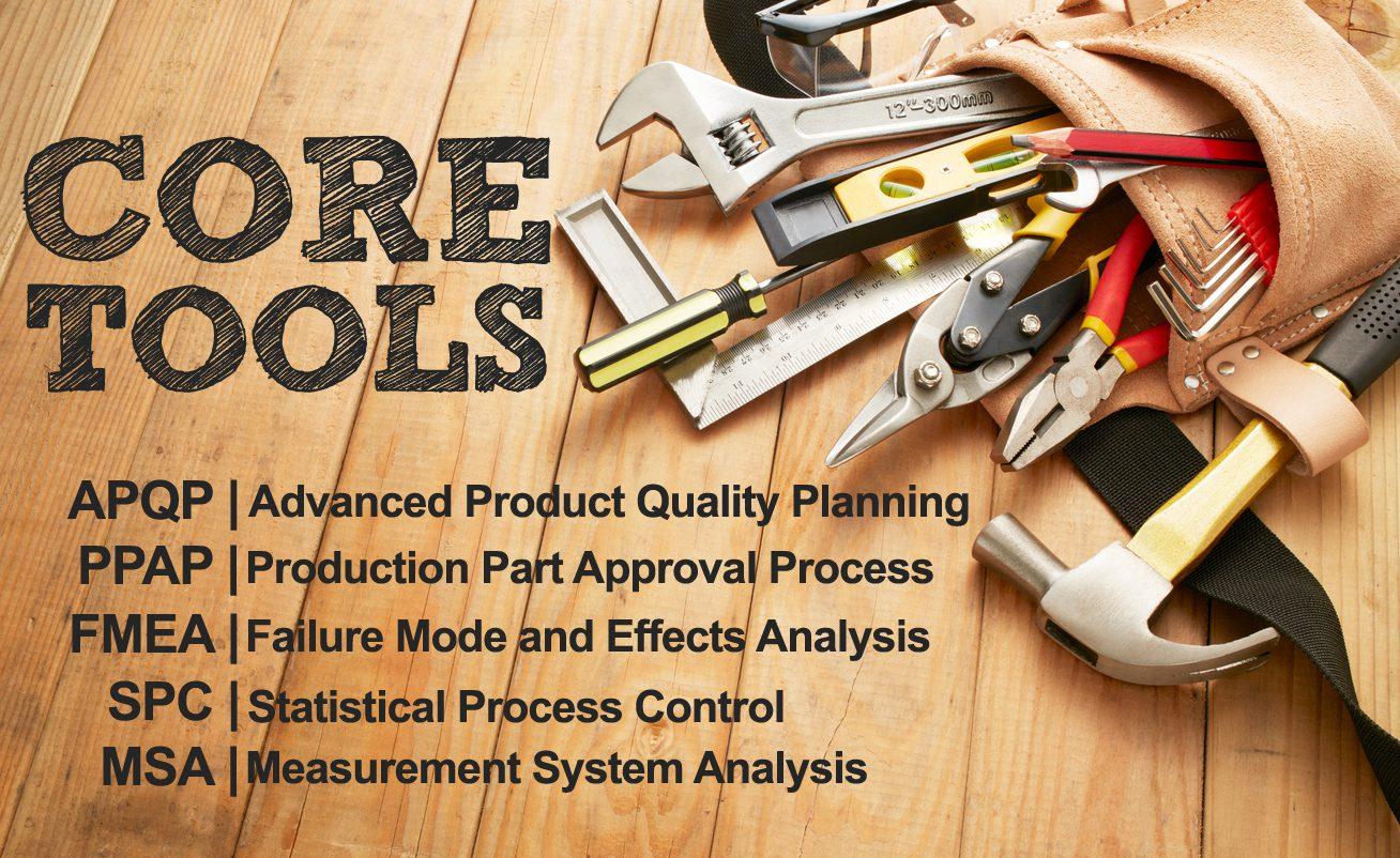 Core Tools Training from QualityTrainingPortal.com