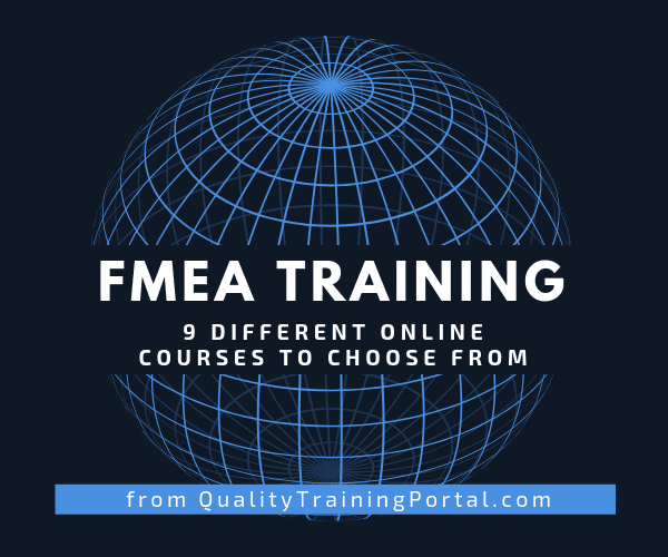 Online FMEA Training Courses