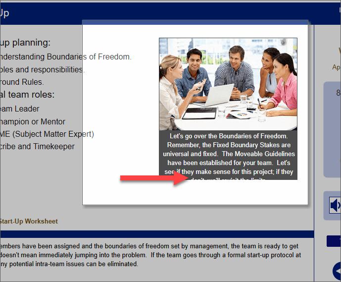 QualityTrainingPortal LMS Text Is Cut Off